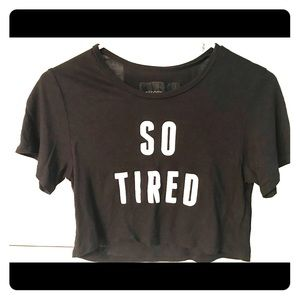 Reformation So Tired Tee